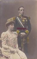 SS.MM. ALFONSO ZILL Y VICTORIA. FRANZEN. VOYAGEE CIRCA 1910. COLORISE - BLEUP. - Koninklijke Families