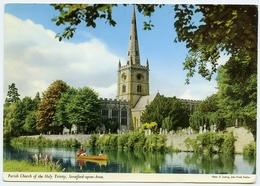 JOHN HINDE : STRATFORD UPON AVON - PARISH CHURCH OF THE HOLY TRINITY - Stratford Upon Avon