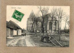 CPA - CHEPOIX (60) - Aspect Du Quartier De L'Eglise En 1918 - France