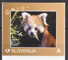 SLOVENIA SLOWENIEN 2016 RED PANDA BEARS ANIMALS ** PERSONALIZED STAMP ** MNH - Bears