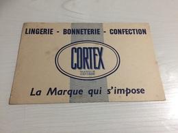 Buvard Ancien CORTEX LINGERIE BONNETERIE CONFECTION - Textile & Clothing