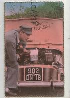Vive Saint-Eloi. Renault Dauphine. Capot Ouvert, Garagiste Bidon D'huile. Immatriculée 902 DN 18 - Andere