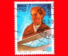 ITALIA - Usato - 1996 - Europa - 41ª Emissione  - 750 L. • Carina Negrone - 6. 1946-.. Repubblica