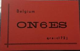 Belgique, Puurs Carte QSL Radio Amateur Sca R/V - Radio