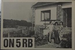 Belgique, Bierges Carte QSL Radio Amateur Sca R/V - Radio