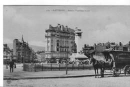 42-SAINT ETIENNE  Avenue Président FAURE-Charrette CASINO - Saint Etienne