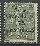 SYRIE  N° 91 S Renversé NEUF** LUXE SANS CHARNIERE / MNH - Syrie (1919-1945)