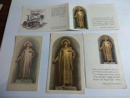 IMMAGINETTE SACRE - SANTINI - HOLY CARDS  GESU' UNIVERSITA' CATTOLICA SACRO CUORE - Religion & Esotericism