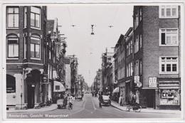 Amsterdam Gezicht Weesperstraat Nieuwe Achtergracht Verkeer Levendig # 1906   1994 - Amsterdam