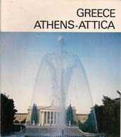 GREECE - ATHENS-ATTICA - DÉPLIANT TOURISTIQUE Avec PLAN DE LA VILLE Et CARTE ROUTIÈRE. - Exploration/Travel