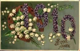 17 - Année Date Millesime - 1910 - - Nieuwjaar