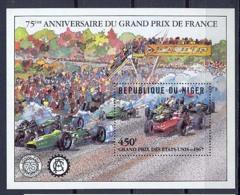 Niger 047 N°36 Voiture (Cars Car Voitures) GRAND PRIS DES USA 1967/FRANCE MNH ** - Niger (1960-...)