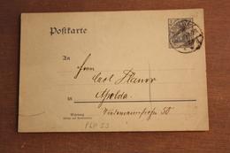 ( 758 ) DR GS P 63 X   WZ S 3 Gelaufen   -   Erhaltung Siehe Bild - Postwaardestukken