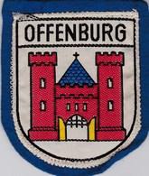 Ecusson Tissu - Allemagne - Offenburg - Blason - Armoiries - Héraldique - Stoffabzeichen