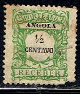 ANGOLA 85 // YVERT  21 TAXE  // 1921 - Angola