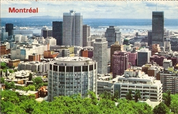 CP Canada 1988 - Montreal, Vue Depuis Le Mont Royal - Québec - Montreal