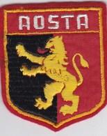 Ecusson Tissu - Italie - Aosta - Blason - Armoiries - Héraldique - Ecussons Tissu