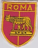 Ecusson Tissu - Italie - Roma - Blason - Armoiries - Héraldique - Ecussons Tissu