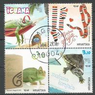 HR 2017-1264-7 PETS FAUNA, HRVATSKA CROATIA, 1 X 4v, Used - Croazia