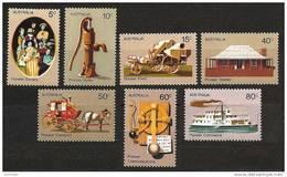 AUSTRALIA 1972 - PIONEER LIFE - SALE! Complete Set 7v Mi 504-10 ** MNH Neuf Cv€3,50 K114 - 1966-79 Elizabeth II