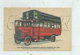 Meriden (Royaume-Uni, Warwickshire) : A Bus Of Birmingham And Midland Motor Omnibus Drawing In 1970 PF. - Angleterre
