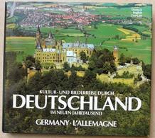 L'Allemagne Deutschland Livre Photos De Peter Von Zahn 3 Langues : Allemand, Français Et Anglais - Grands Formats