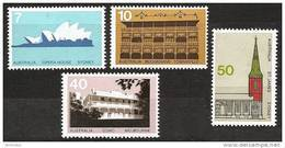 AUSTRALIA 1973 - Architecture / Operahouse / Buchanan Hotel / Como House / St. James Church - 4v Mi 537-40 ** MNH C - 1966-79 Elizabeth II