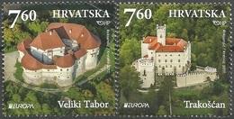 HR 2017-1282-3 EUROPA CEPT, HRVATSKA CROATIA, 1 X 2v, MNH - Croazia