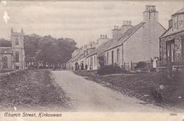 670/ Kirkcowan, Chrch Street, Mensen, 1909 - Schotland