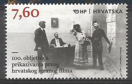 HR 2017-1290 FILM, HRVATSKA CROATIA, 1 X 1v, Used - Kroatien