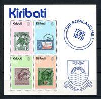 KIRIBATI 1979  N° 1 ** Neuf MNH Superbe C 3.50 € Rowland Hill Timbres Sur T. Gilbert Bateaux Ellice Grande Bretagne Arbr - Kiribati (1979-...)