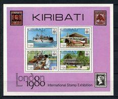 KIRIBATI 1979  N° 2 ** Neuf MNH Superbe C 5 € Exposition Philatélique Bateaux Avions Radio Poste Boats Planes Transports - Kiribati (1979-...)
