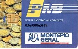 PHONECARDS-PORTUGAL- PORTE MONNAIE- MULTIBANCO  CHIP--- BANK---MONTEPIO GERAL - Portugal