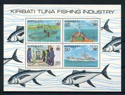 KIRIBATI 1981  N° 3 ** Neuf MNH Superbe C 3,50 € Poissons Bateaux De Pêche Thon Fishes - Kiribati (1979-...)