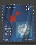 HR 2017-1294 25A° HR IN UNO, HRVATSKA CROATIA, 1 X 1v, Used - Kroatien