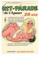 ILLUSTRATEUR ALEXANDRE LYNA N°864/2 HUMOUR COUPLE Erotisme Hit Parade De L'Amour Nu Nude Seins Nus Téton - Alexandre