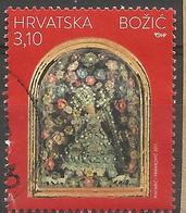 HR 2017-1296 CHRISTMAS, HRVATSKA CROATIA, 1 X 1v, Used - Kroatien