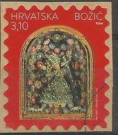 HR 2017-1297 CHRISTMAS, HRVATSKA CROATIA, 1 X 1v, Used - Kroatien