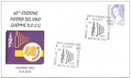 5.- ITALIA ITALY 2010. WINE OF GHEMME D.O.C.G VIN WIJN - Vinos Y Alcoholes