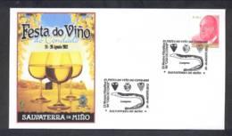 6.- SPAIN ESPAGNE 2012. SPECIAL POSTMARK. WINE. GRAPES VIN WIJN - SALVATERRA DE MIÑO GALICIA - Vinos Y Alcoholes