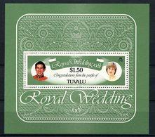 TUVALU 1981  N° 6 ** Neuf MNH Superbe C 4 € Mariage Princier Charles Lady Diana Royal Wedding - Tuvalu
