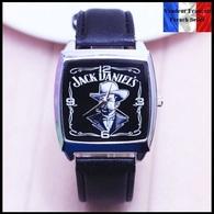 Montre à Quartz NEUVE Bracelet Cuir ! ( Watch ) - Jack Daniel's - Montres Modernes