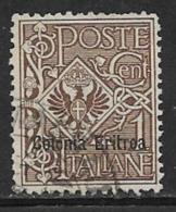 Eritrea Scott # 19 Used Italy Stamp Overprinted,1903 - Eritrea