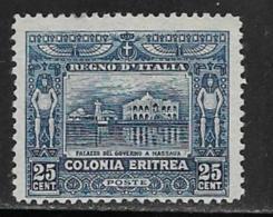 Eritrea Scott # 49 Unused No Gum Farmer Plowing,1914 - Eritrea