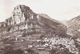St Jeannet   H721      Vue Panoramique Aérienne Sur Le Village Et Le Baou - Sonstige Gemeinden