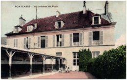 77 PONTCARRE - Vue Intérieure Des écoles - Frankrijk