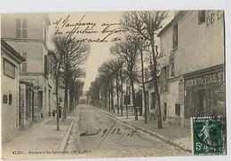RUEIL: Lot De 2 CPA: Boulevard Des Sycomores - G.I. Paris - Rue De Marly  - ND Phot - Rueil Malmaison