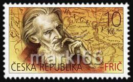 Czech Republic - 2012 - Traveler Alberto Vojtech Frich, (1882-1944) - Mint Stamp - Tschechische Republik