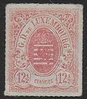 LUXEMBOURG -  N° 18 * - Cote : 230 € - 1859-1880 Armoiries