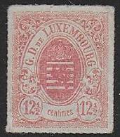 LUXEMBOURG -  N° 18 * - Cote : 230 € - 1859-1880 Wappen & Heraldik